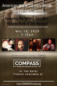American Made County Music Songwriters Series @ DeYor Performing Arts Center